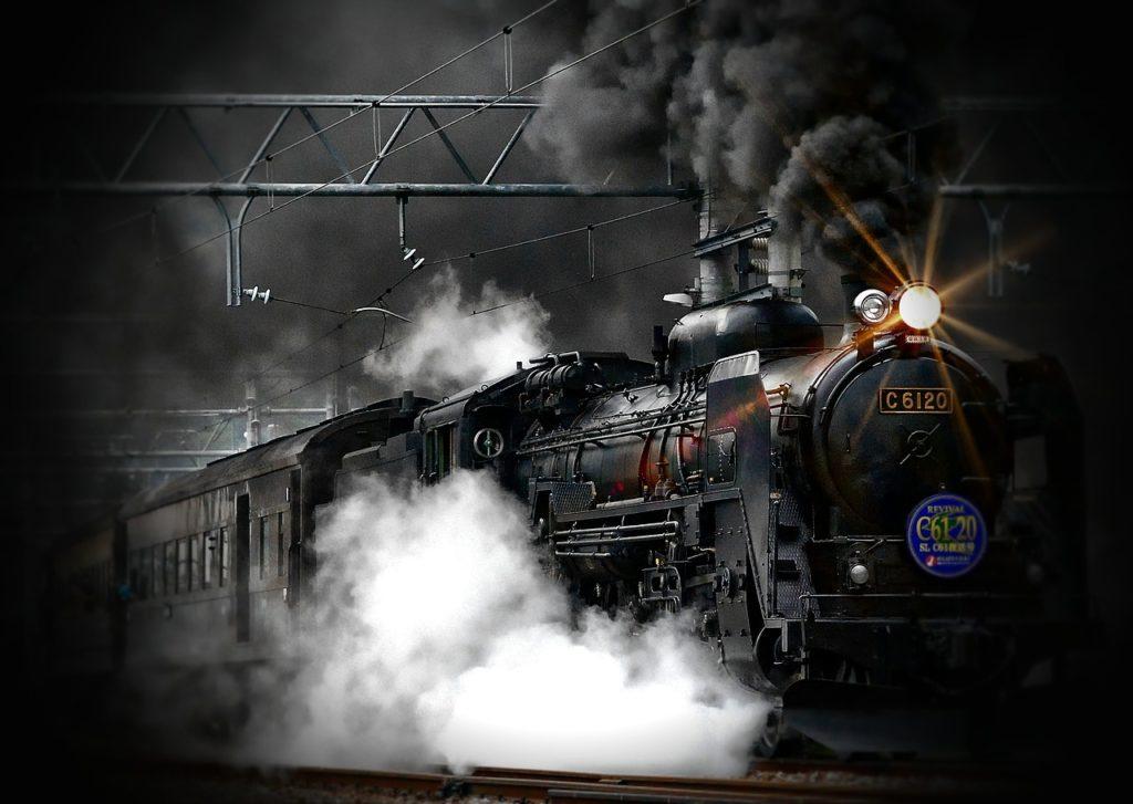 energía y la máquina de vapor