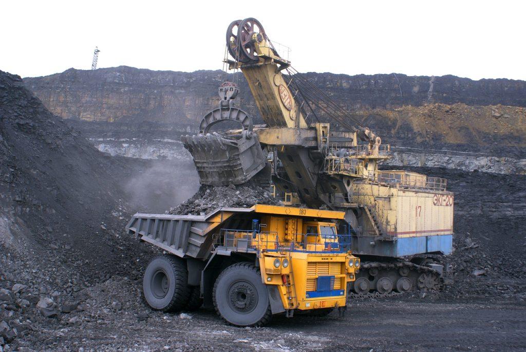 energías no renovables carbón mineral