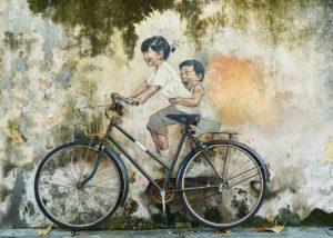 bicicleta efecto invernadero