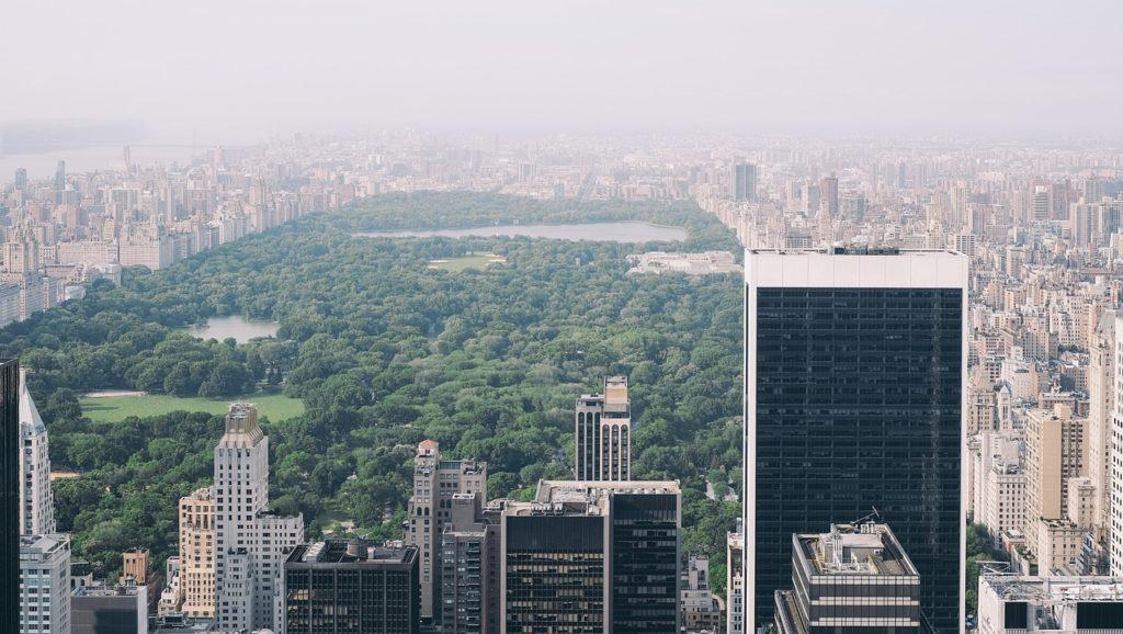 ciudad parque atmósfera