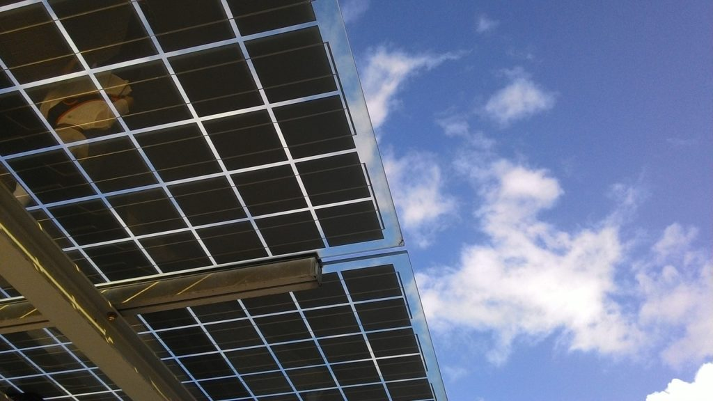 energía solar híbrida placa solar