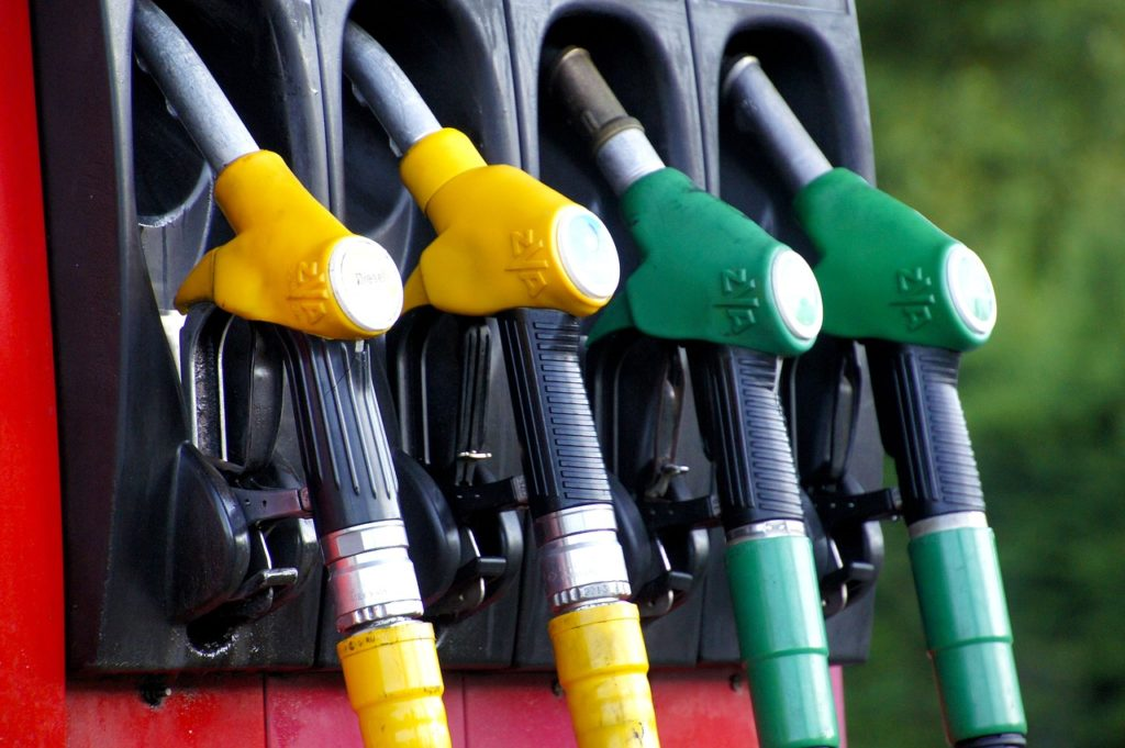 Gasolina combustibles fósiles