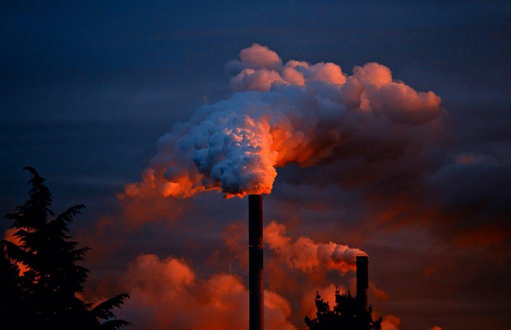 Humo y contaminación atmosférica