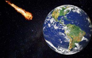 meteorito atmósfera