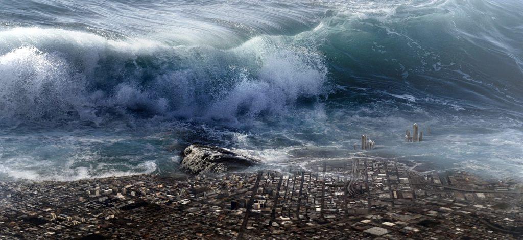 Tsunami fukushima central nuclear