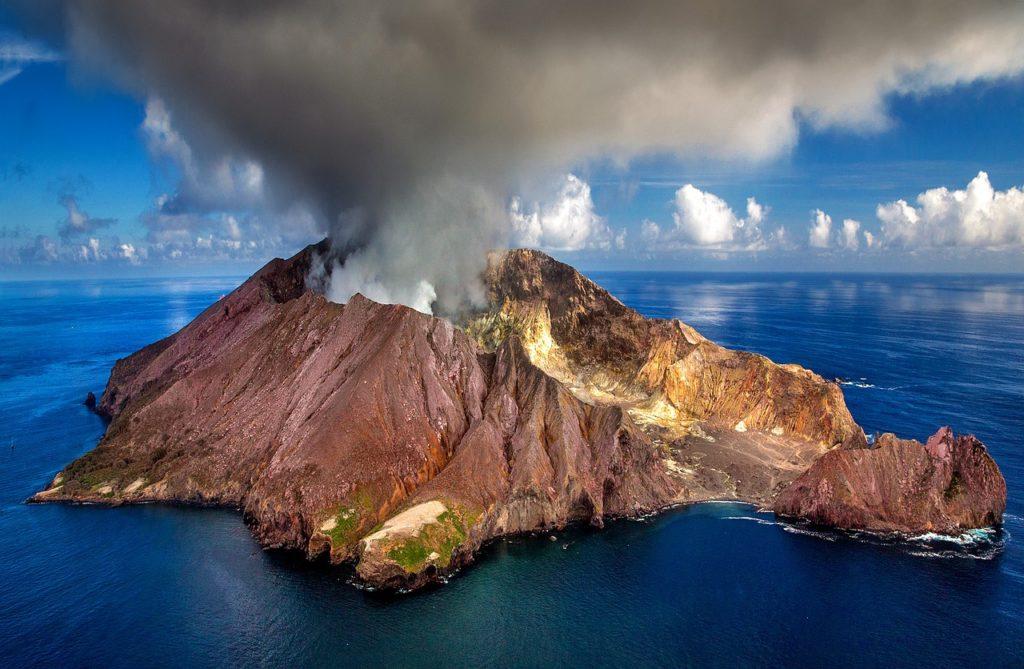 contaminación atmosférica volcán