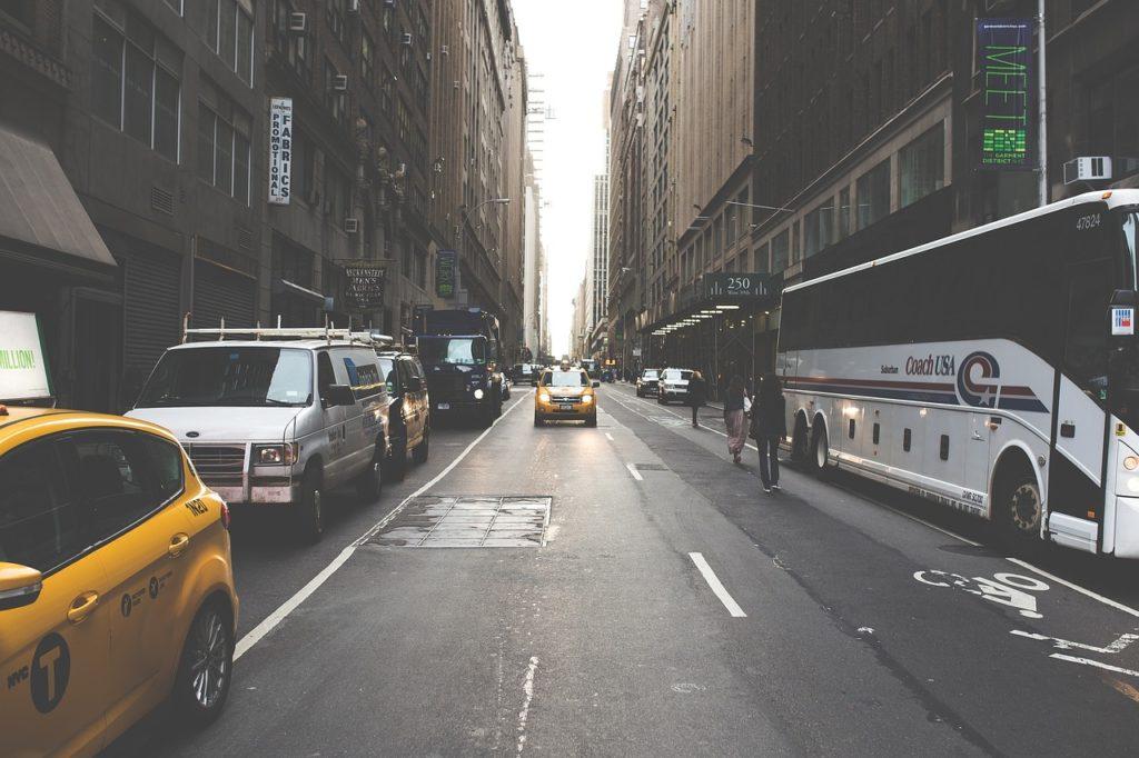 transporte en ciudades contaminación acústica
