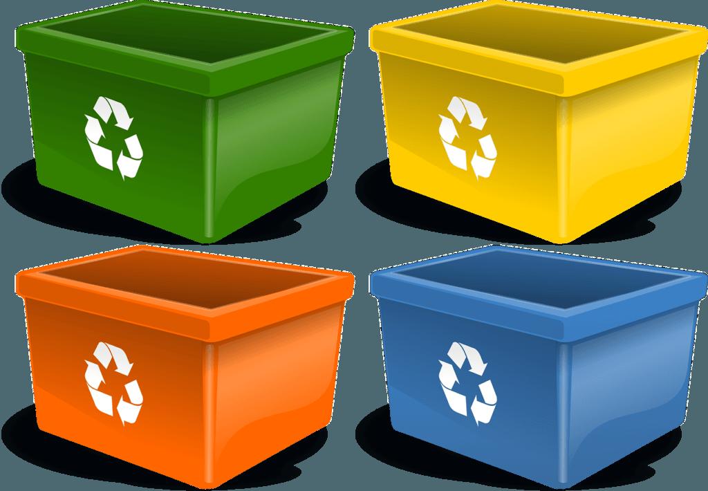 contenedores y reciclaje