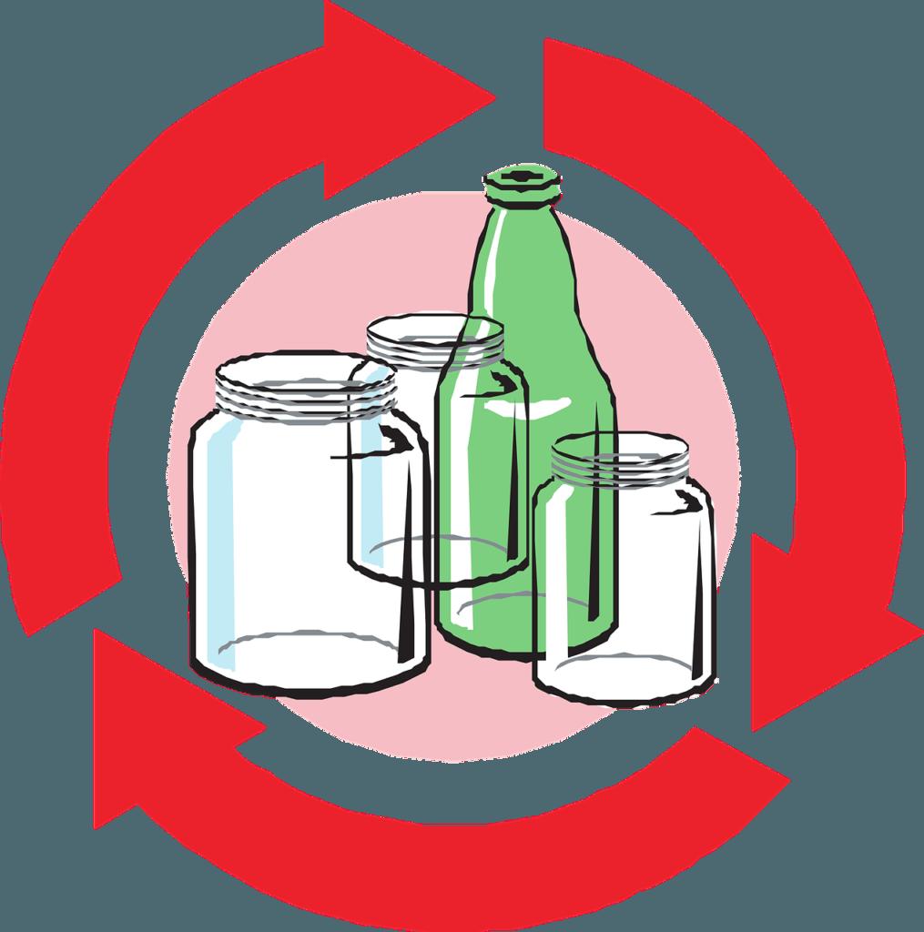 puntos importantes para reciclar vidrio o cristal