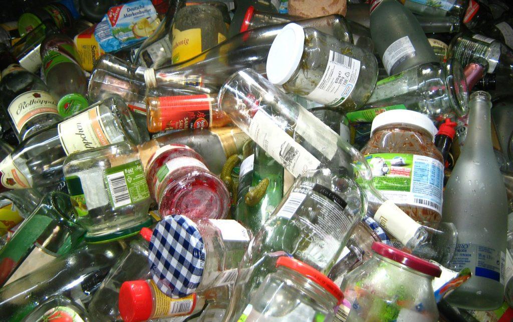 reciclar vidrio o cristal