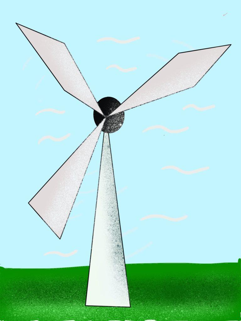 energía solar o del viento