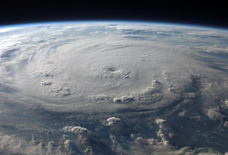 ciclón o huracán