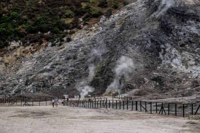 Campi Flegrei volcán italiano