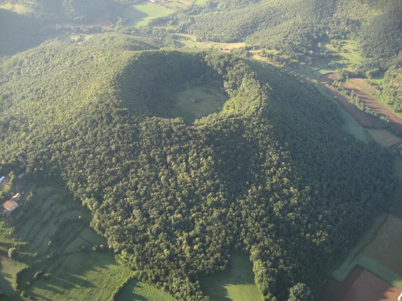 El Santa Margarita volcanes en España
