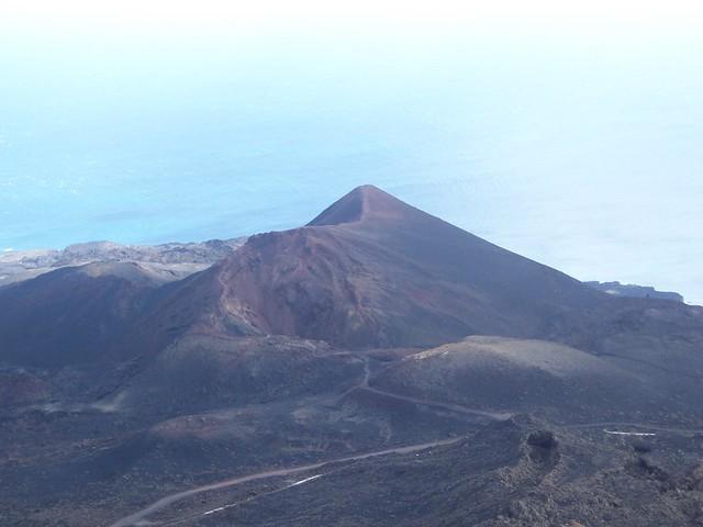 El Teneguía volcán en España