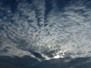 altocúmulos un tipo de nube