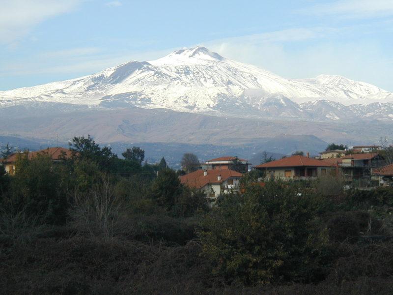 volcanes italianos monte etna