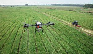drones agricultura y deforestación
