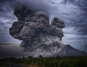 causas de la erupción volcánica