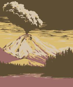 qué ocurre en las erupciones volcánicas