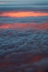 a qué velocidad se mueven las nubes