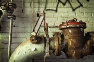 ahorro de agua tubería rota