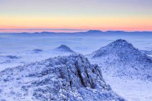 desierto frío