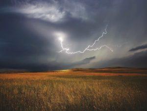 ¿Cómo son las precipitaciones en una llanura aluvial?