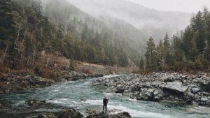 ¿Qué características tienen los ríos de montaña?