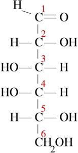 Cómo se clasifican los monosacáridos - Galactosa