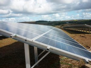 Dónde se crearon los paneles solares