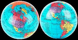 Qué efectos produce la rotación de la Tierra - Abultamiento en la zona ecuatorial y achatamiento polar