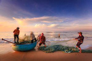 Conservación de los recursos naturales - No a la pesca y caza indiscriminada
