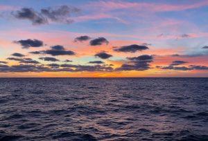 Cómo son las precipitaciones en el océano Atlántico
