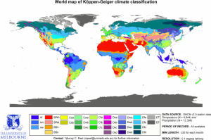 Qué es la clasificación climática de Köppen
