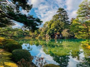 Qué es un jardín japonés -