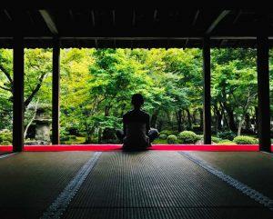 Un jardín Zen o jardín seco