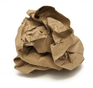 Qué técnicas para reciclar papel en casa podemos aplicar - Papel enrollado