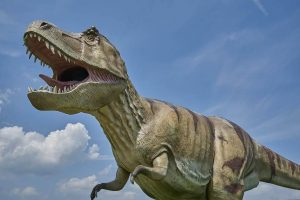 5 animales característicos del Mesozoico - Tiranosaurio rex